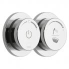 Sterowany elektronicznie 2-drożny termostat prysznicowo / wannowy - VADO - Sensori - DIA-2700