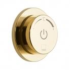 Moduł termostatyczny 1-drożny z jednostką sterującą - INDIVIDUAL by VADO - Złoto Polerowane