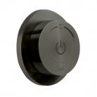 Moduł termostatyczny 1-drożny z jednostką sterującą - INDIVIDUAL by VADO - Czarny Szczotkowany (matowy)