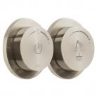 Moduł termostatyczny 2-drożny (prysznicowy) z dwiema jednostkami sterującymi - INDIVIDUAL by VADO - Nikiel Szczotkowany