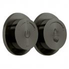 Moduł termostatyczny 2-drożny (wannowo-prysznicowy) z dwiema jednostkami sterującymi- INDIVIDUAL by VADO - Czarny Szczotkowany (matowy)